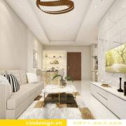 mẫu thiết kế nội thất chung cư D Capitale căn 1 phòng ngủ