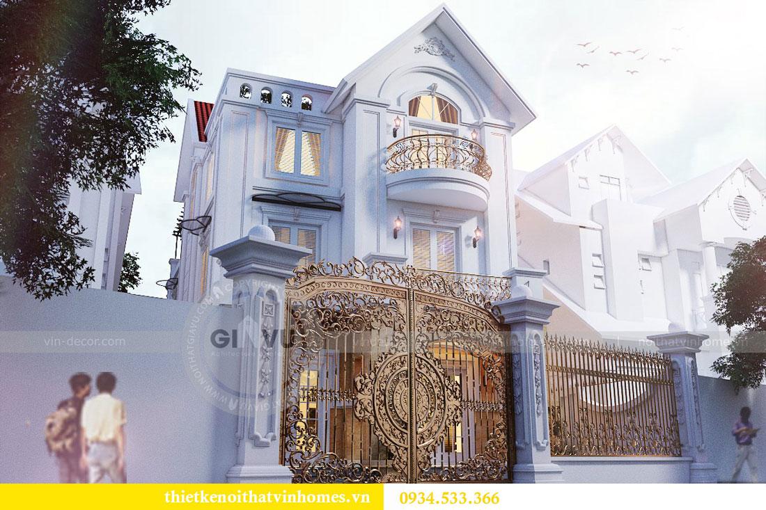Thiết kế nội thất biệt thự Vinhomes Harmony 1
