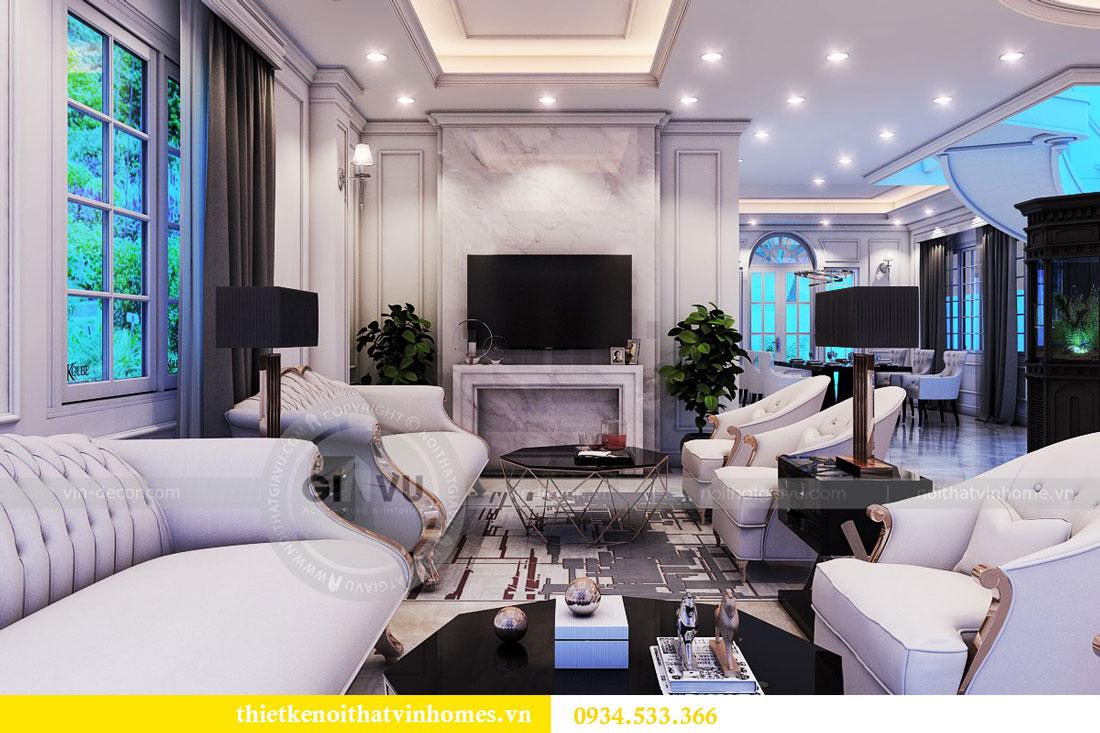 Thiết kế nội thất biệt thự Vinhomes Harmony 11