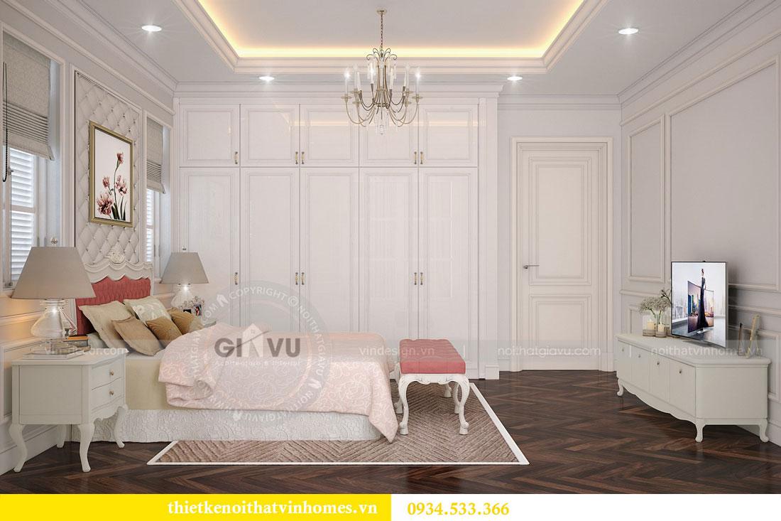 Thiết kế nội thất biệt thự Vinhomes Harmony 12