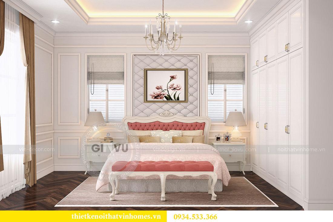 Thiết kế nội thất biệt thự Vinhomes Harmony 13