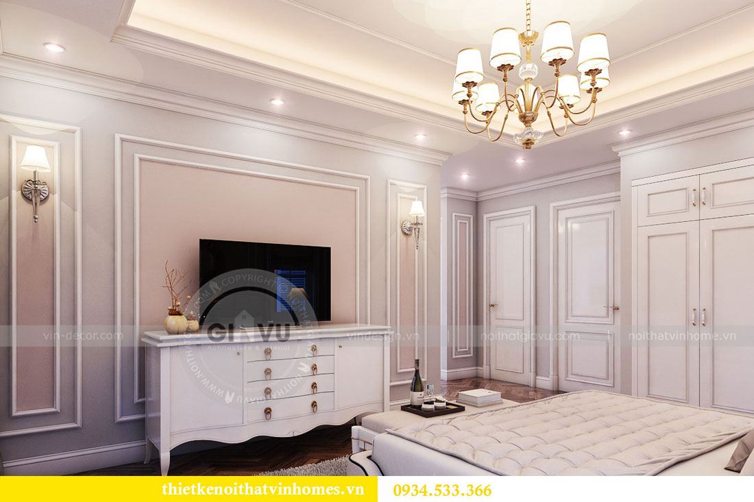 Thiết kế nội thất biệt thự Vinhomes Harmony 16