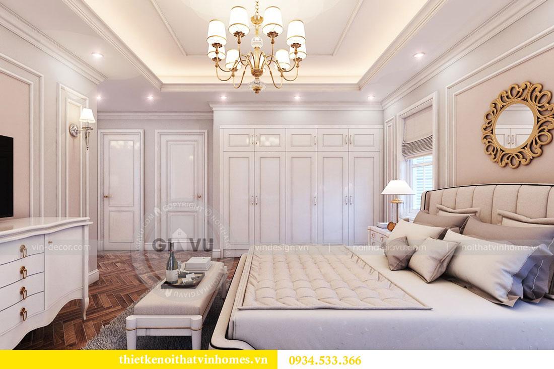 Thiết kế nội thất biệt thự Vinhomes Harmony 17