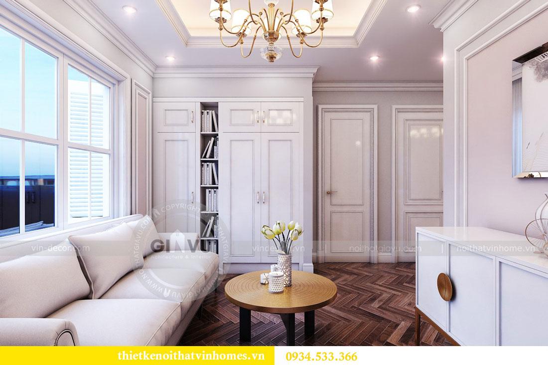 Thiết kế nội thất biệt thự Vinhomes Harmony 19
