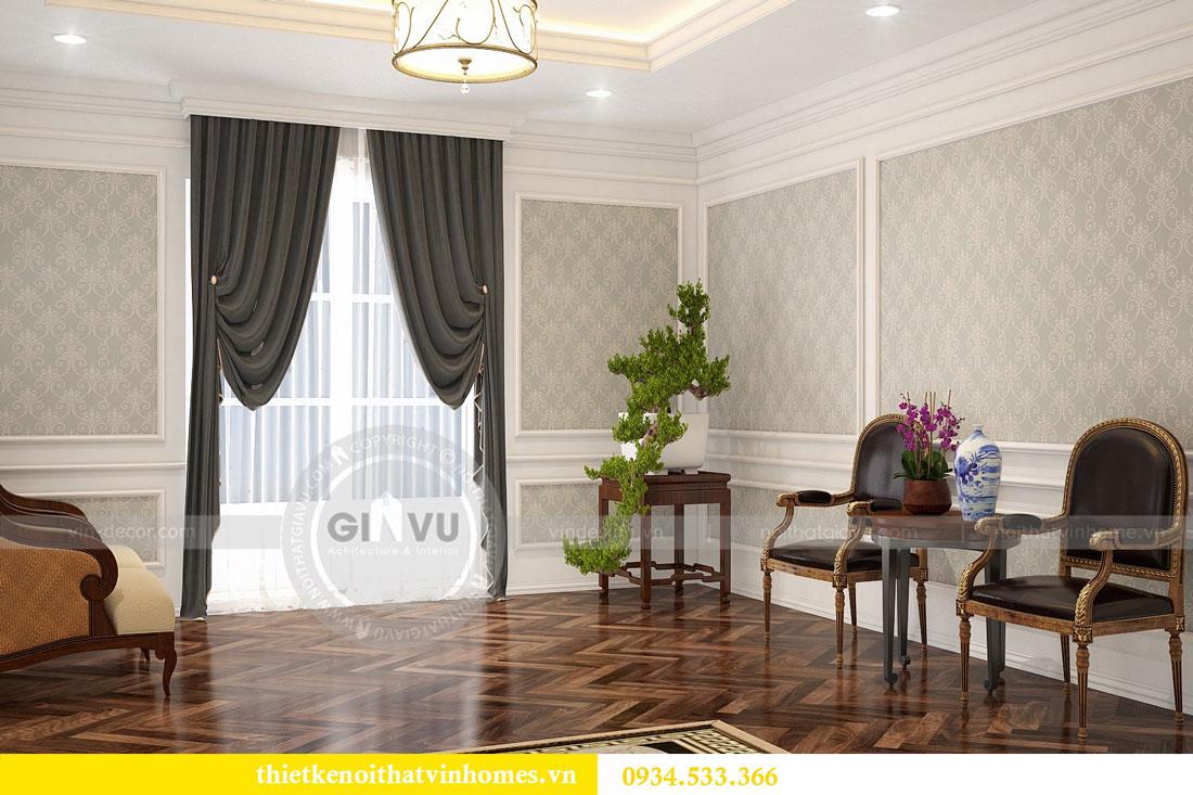Thiết kế nội thất biệt thự Vinhomes Harmony 21