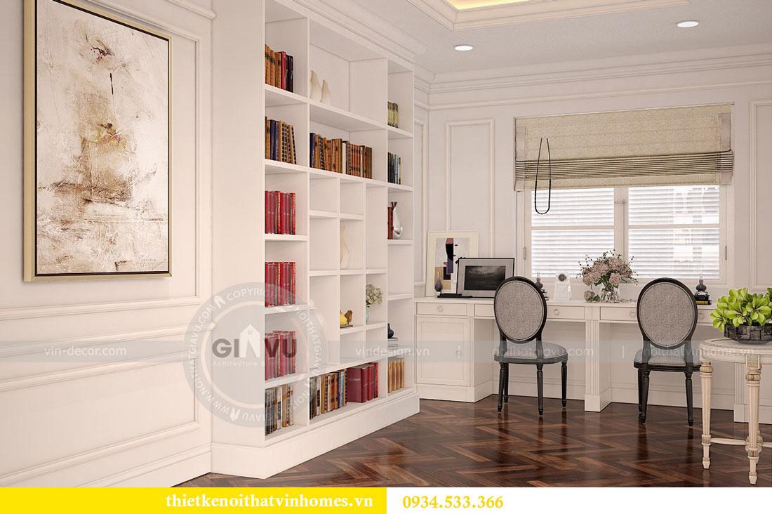 Thiết kế nội thất biệt thự Vinhomes Harmony 14