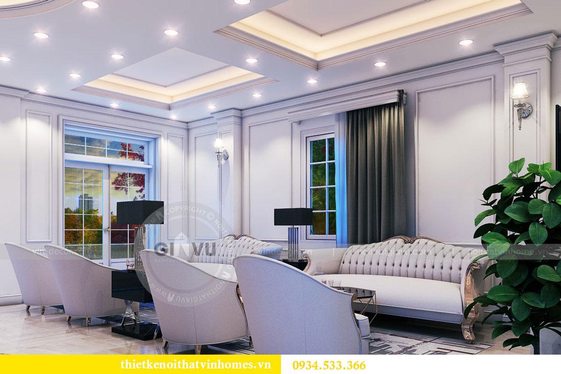 Thiết kế nội thất biệt thự Vinhomes Harmony 8