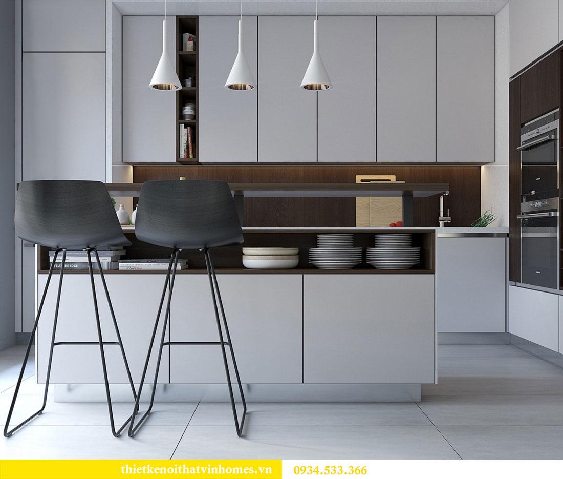 Thiết kế nội thất biệt thự Vinhomes Thăng Long 2
