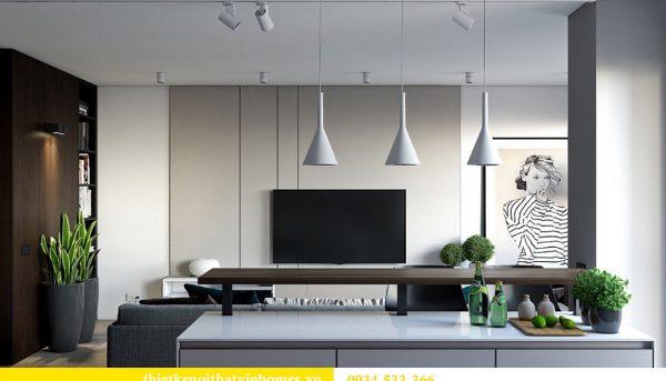 Thiết kế nội thất biệt thự Vinhomes Thăng Long 11