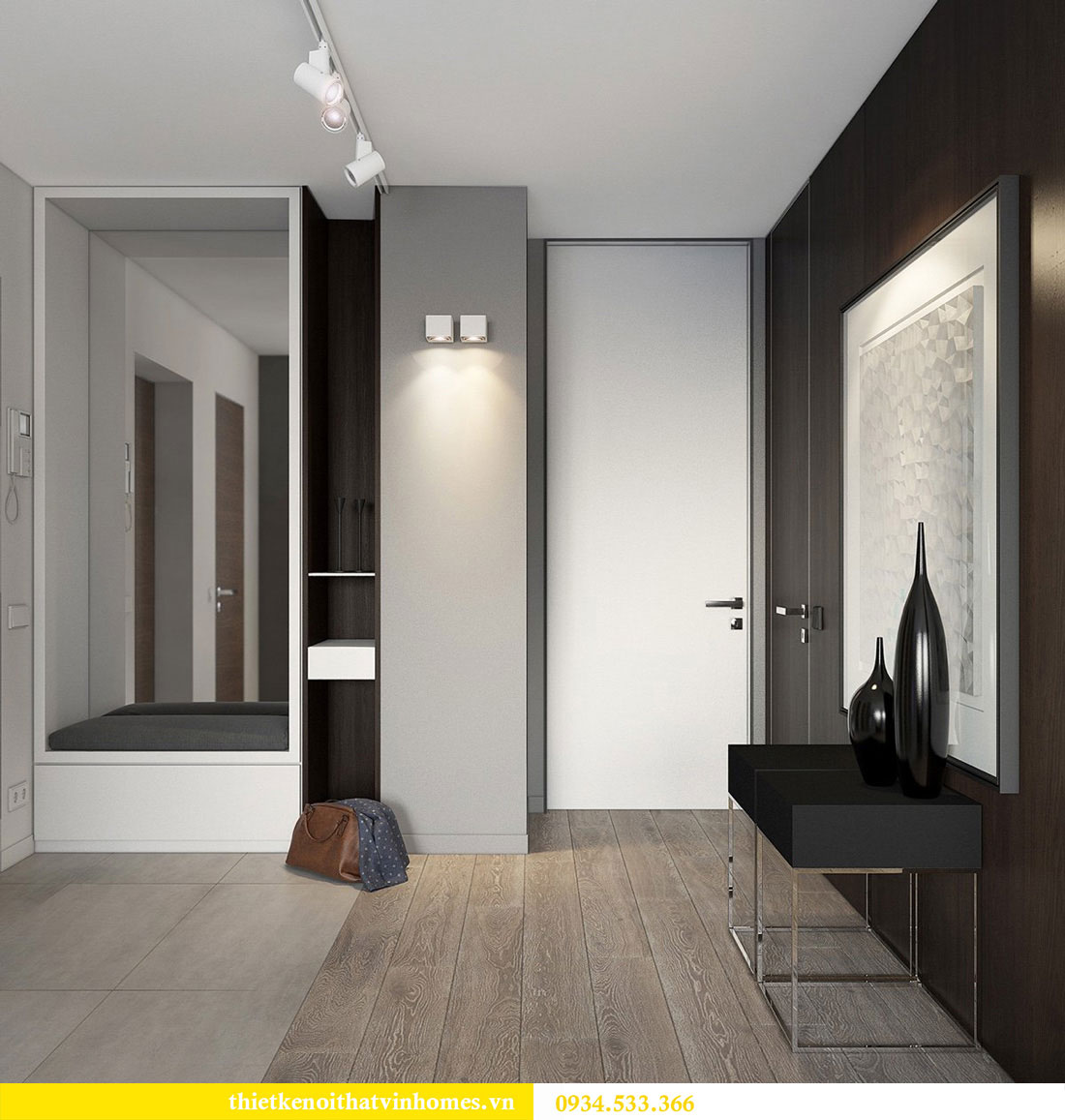 Thiết kế nội thất biệt thự Vinhomes Thăng Long 13