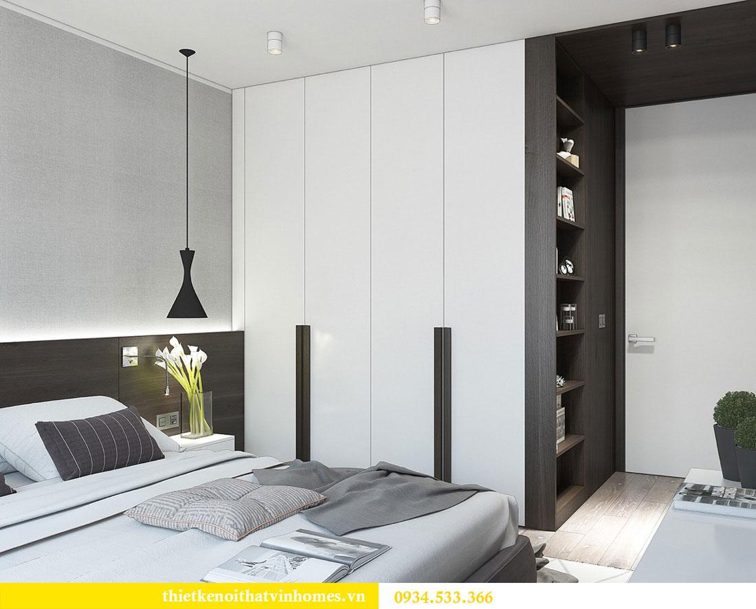Thiết kế nội thất biệt thự Vinhomes Thăng Long 15