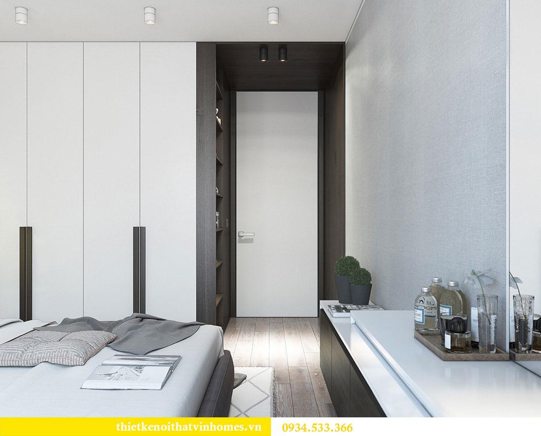 Thiết kế nội thất biệt thự Vinhomes Thăng Long 16