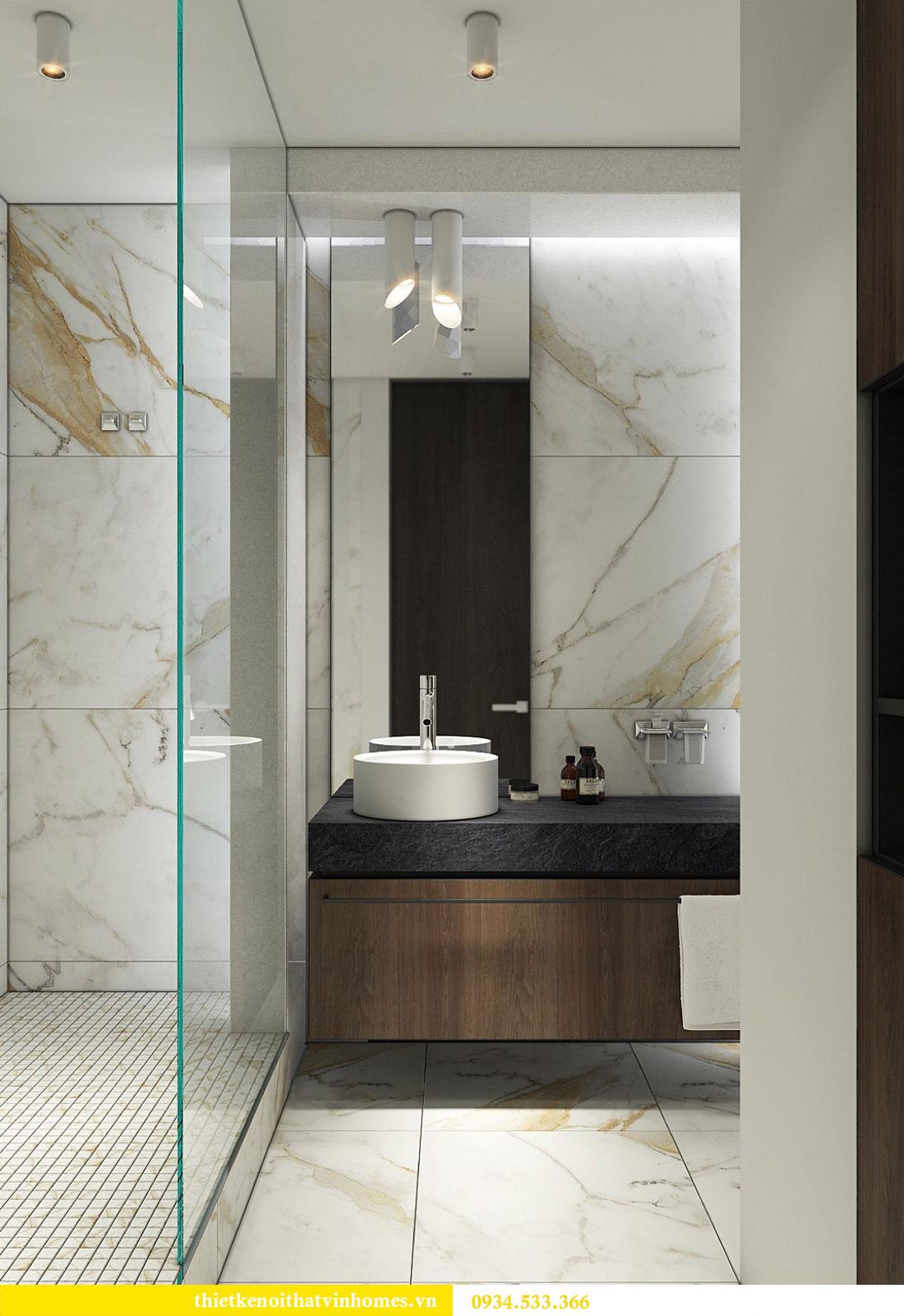 Thiết kế nội thất biệt thự Vinhomes Thăng Long 22