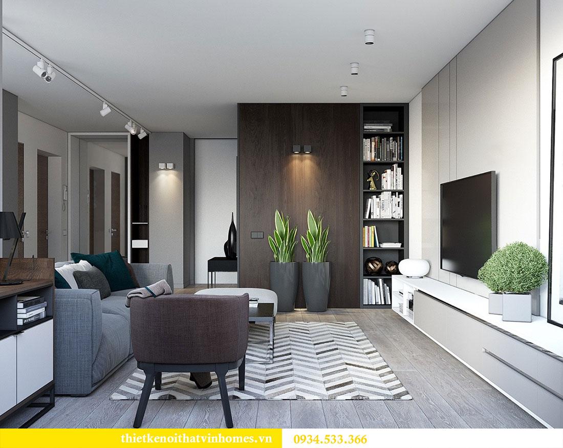 Thiết kế nội thất biệt thự Vinhomes Thăng Long 4