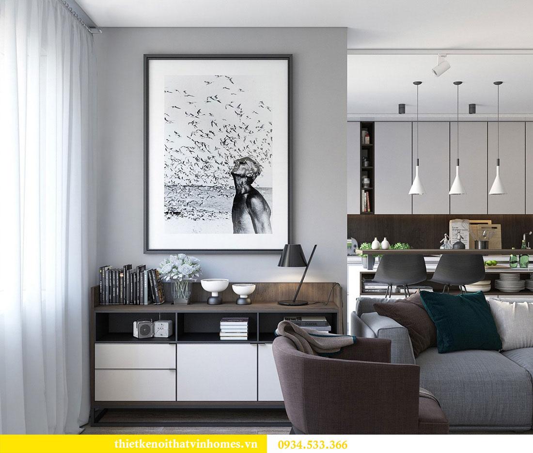 Thiết kế nội thất biệt thự Vinhomes Thăng Long 5