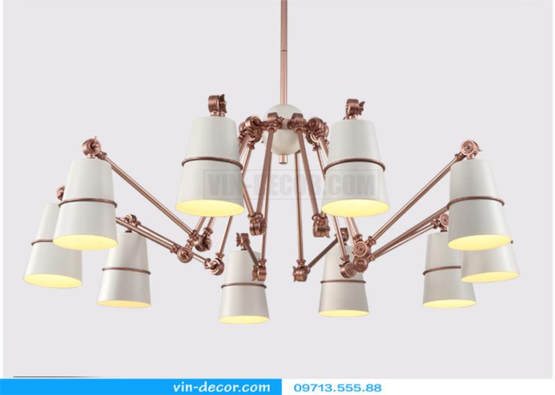 đèn chùm chân nhện nghệ thuật 01