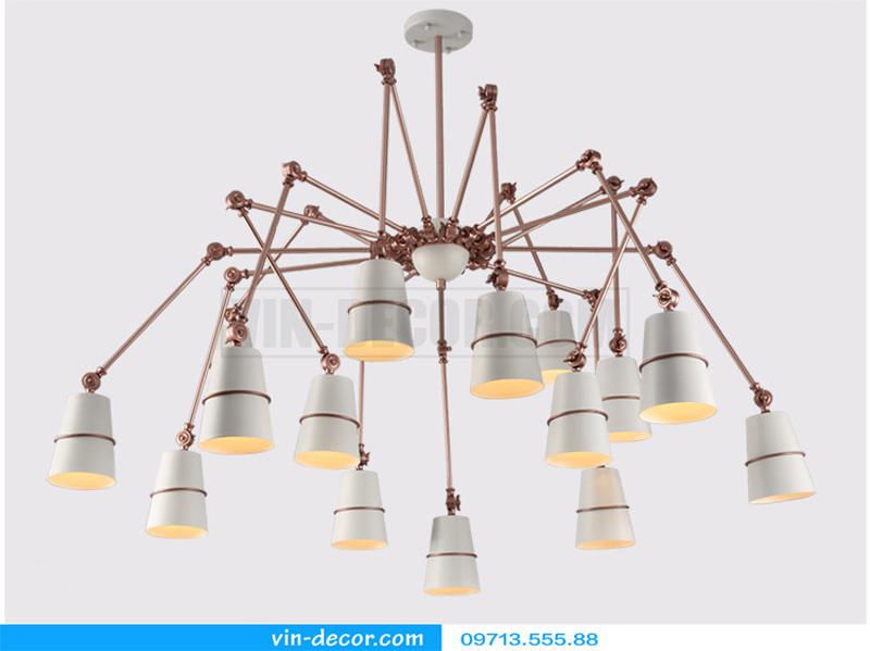 đèn chùm chân nhện nghệ thuật 03