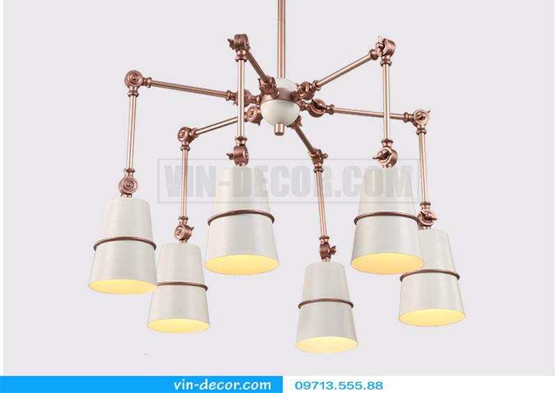 đèn chùm chân nhện nghệ thuật 11