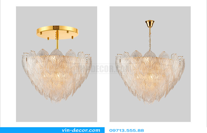 đèn chùm độc đáo nghệ thuật MD 874 03