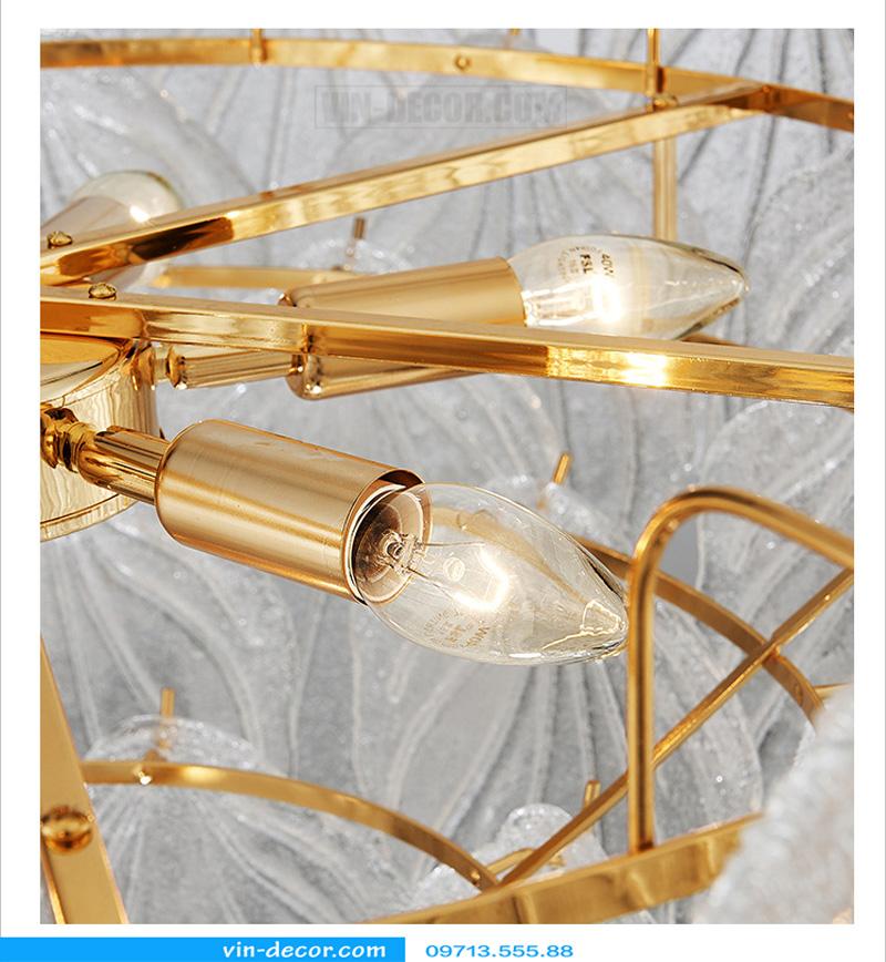 đèn chùm độc đáo nghệ thuật MD 874 07