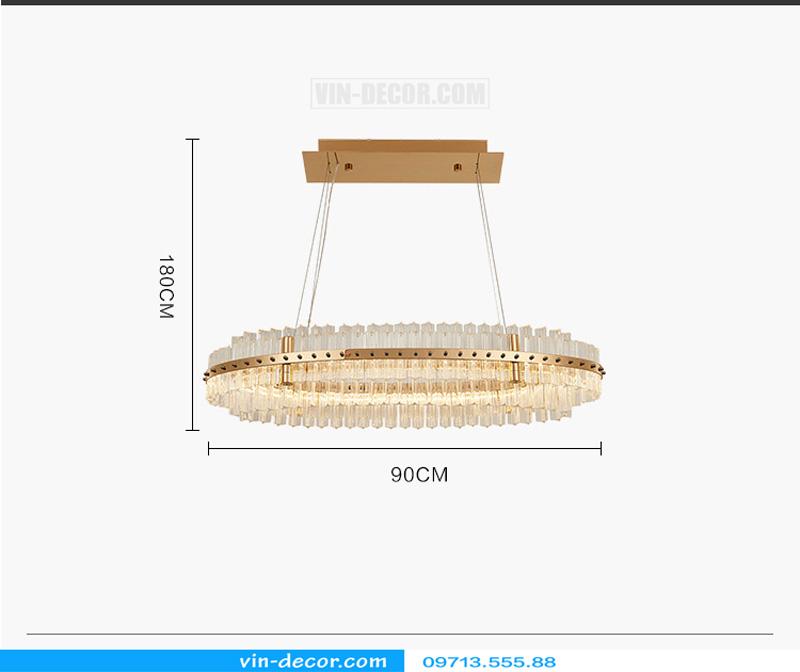 đèn chùm hiện đại MD 962 04