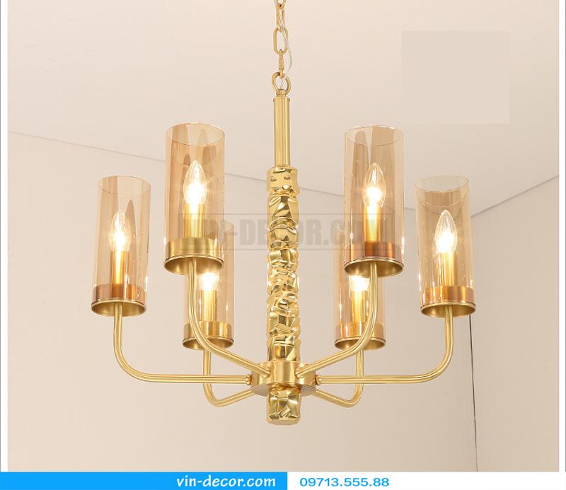 đèn chùm mạ vàng nghệ thuật MD 3105 01