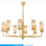 đèn chùm mạ vàng nghệ thuật MD 3105 02