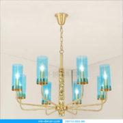 đèn chùm mạ vàng nghệ thuật MD 3105 03