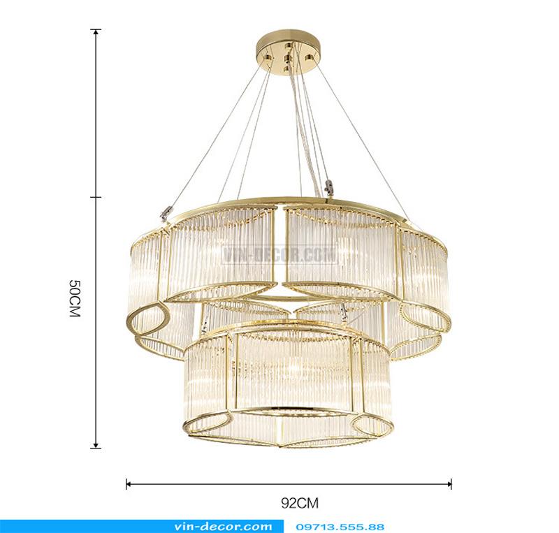 đèn chùm sang trọng MD 8053 02