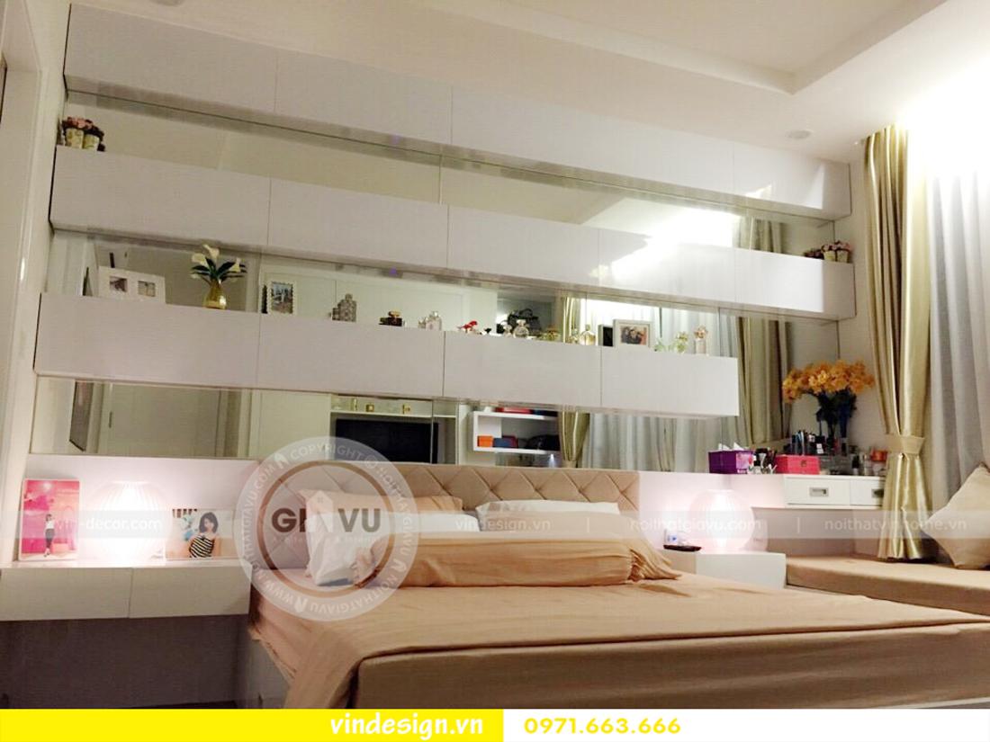Thi công nội thất chung cư vinhomes Gardenia