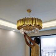 đèn chùm phòng khách cao cấp MD 002 04