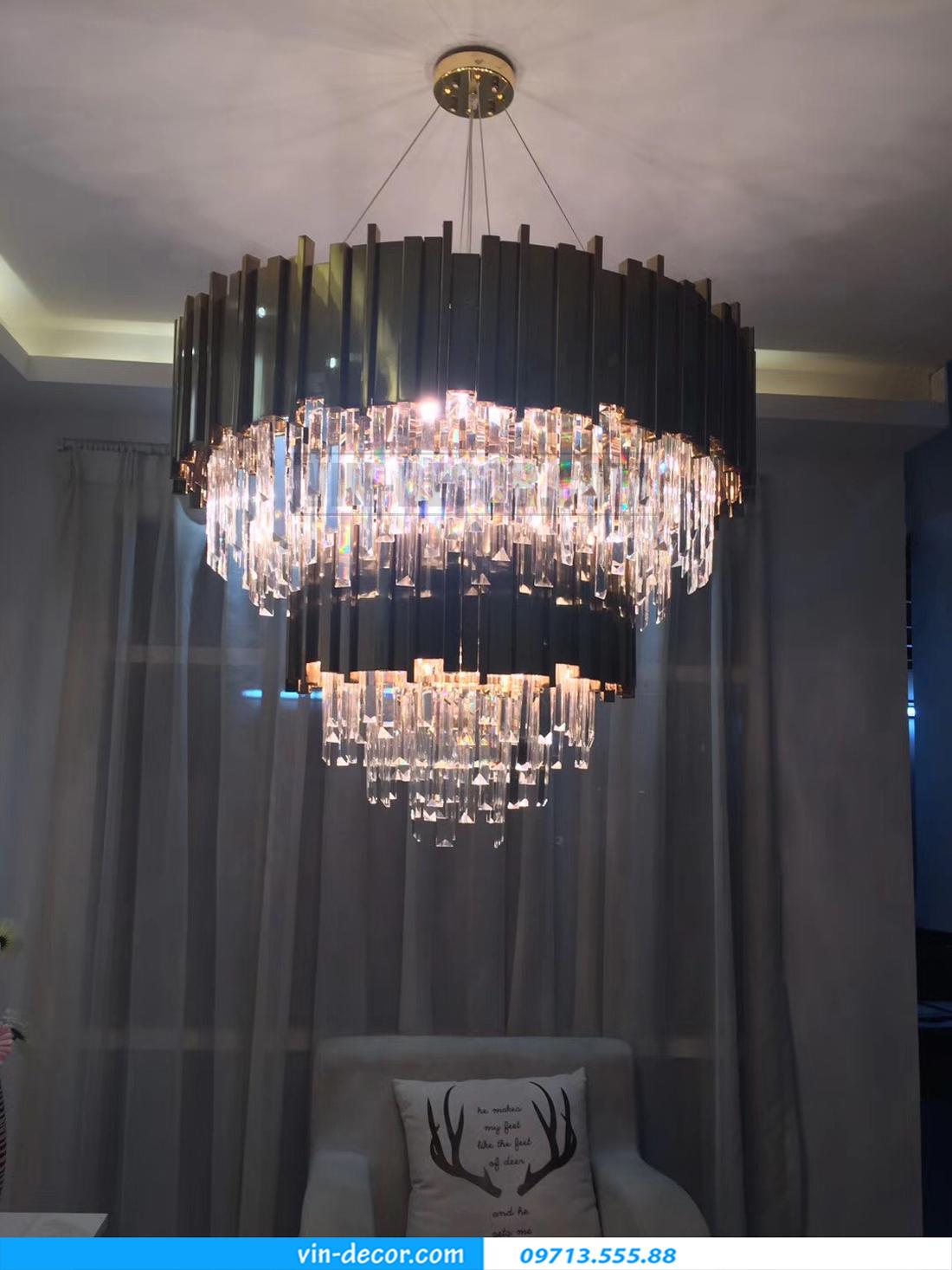 đèn chùm phòng khách cao cấp MD 002 05