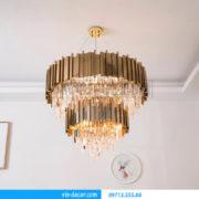 đèn chùm phòng khách cao cấp MD 002 06