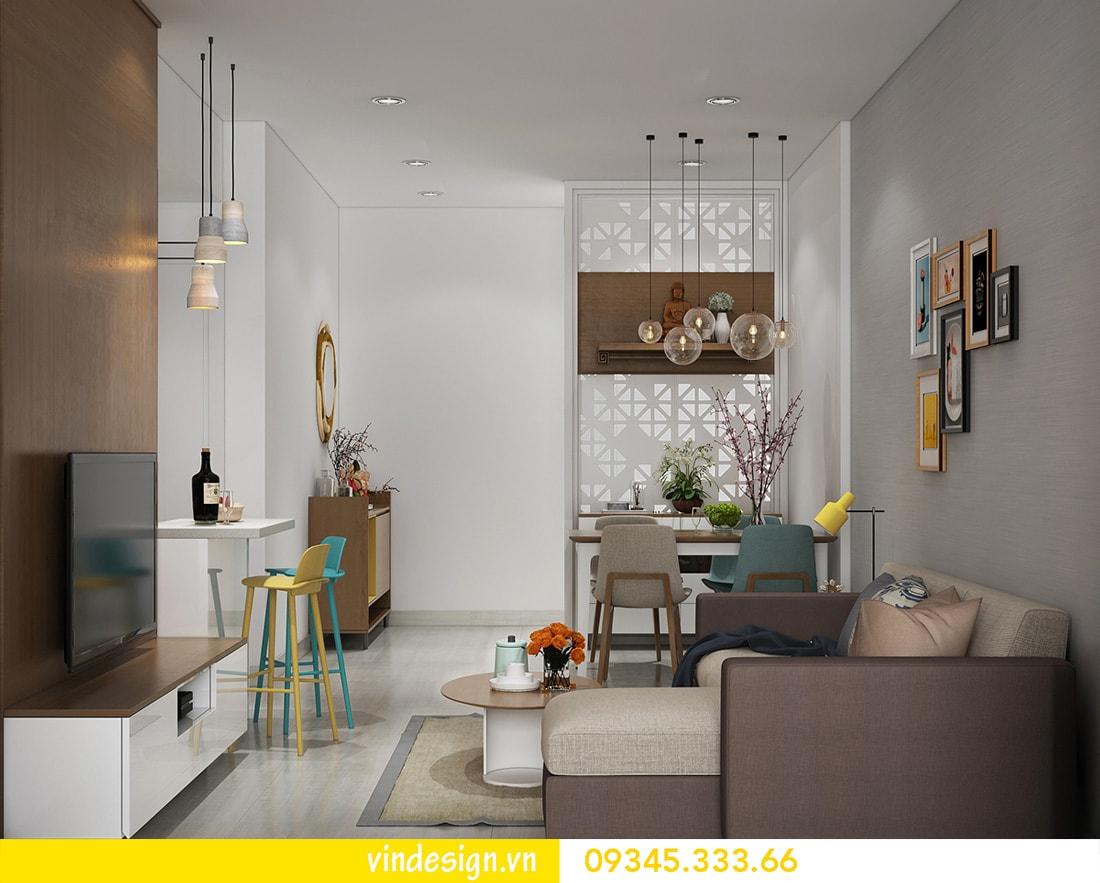 thiết kế nội thất căn 1 phòng ngủ vinhomes metropolis liễu giai ba đình 02