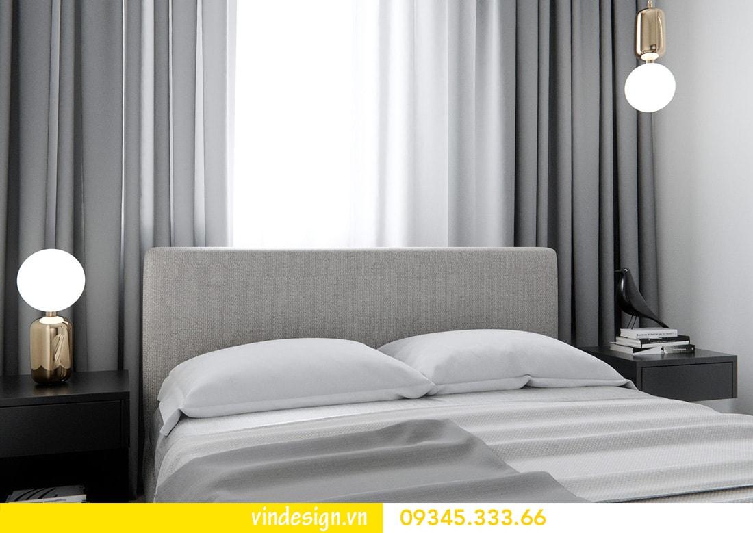 thiết kế nội thất căn 1 phòng ngủ vinhomes metropolis liễu giai ba đình 05