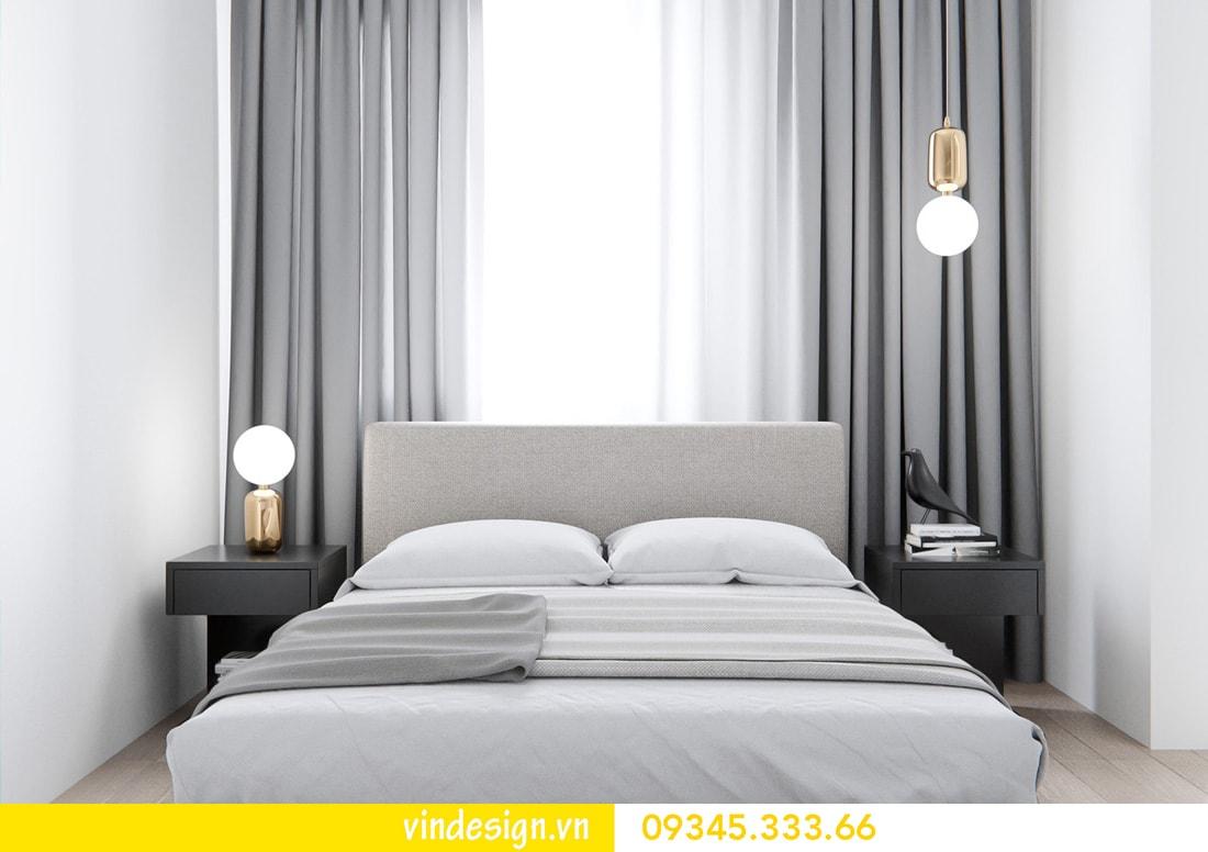 thiết kế nội thất căn 1 phòng ngủ vinhomes metropolis liễu giai ba đình 06