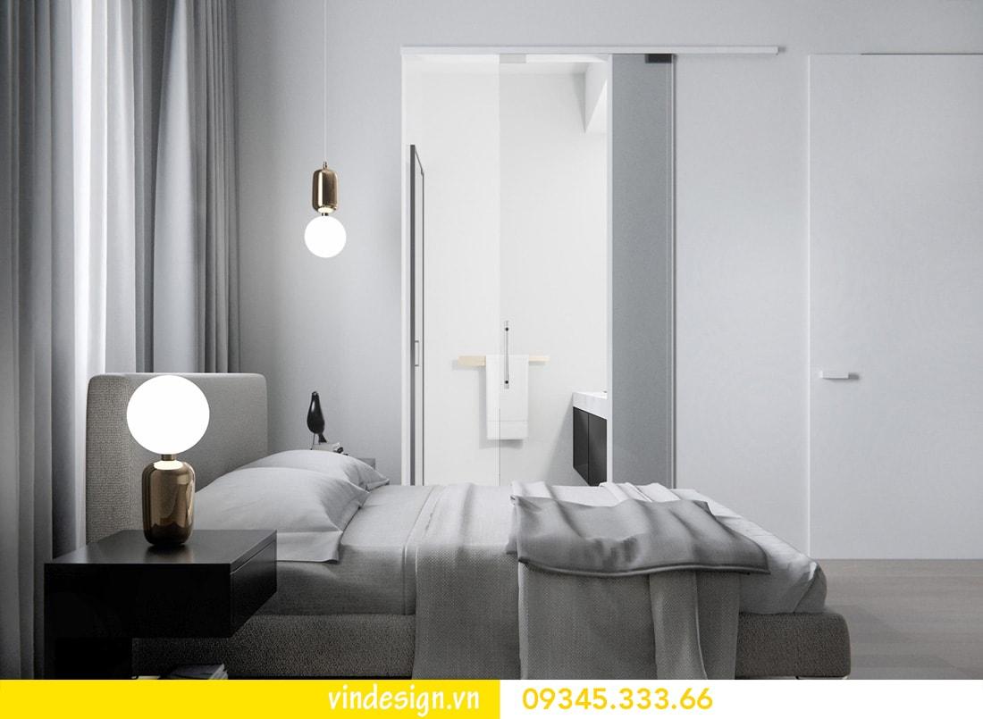 thiết kế nội thất căn 1 phòng ngủ vinhomes metropolis liễu giai ba đình 07