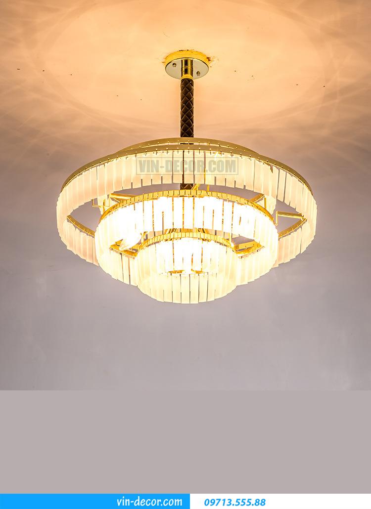 đèn chùm phòng khách 08