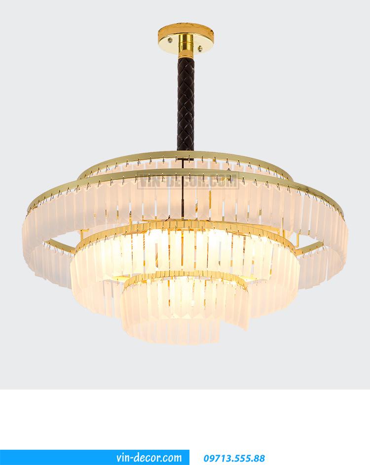 đèn chùm phòng khách 09