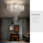 đèn chùm phòng khách cao cấp 01
