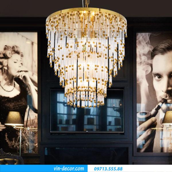 đèn chùm trang trí phòng khách 05
