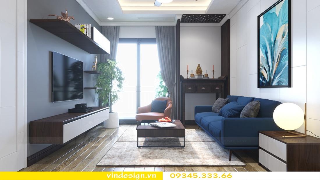 thiết kế nội thất chung cư gallery 3 phòng ngủ 01