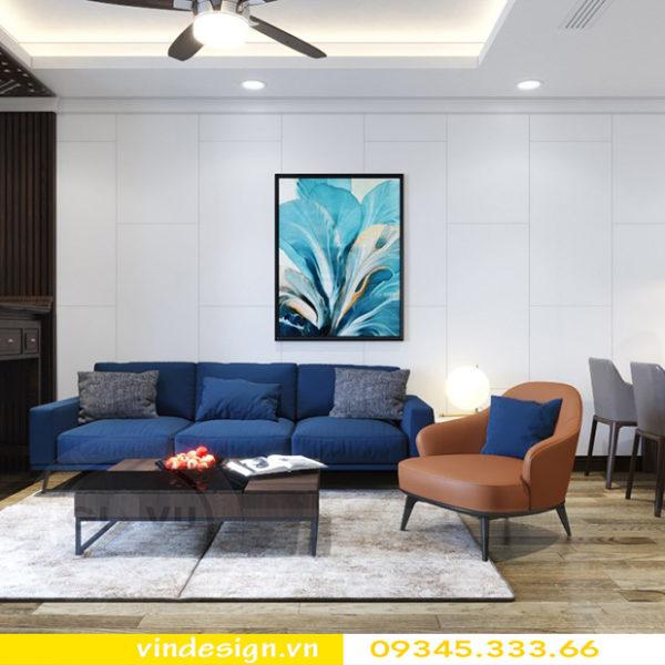 thiết kế nội thất chung cư gallery 3 phòng ngủ 02