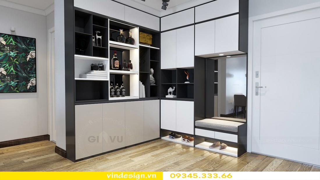 thiết kế nội thất chung cư gallery 3 phòng ngủ 03