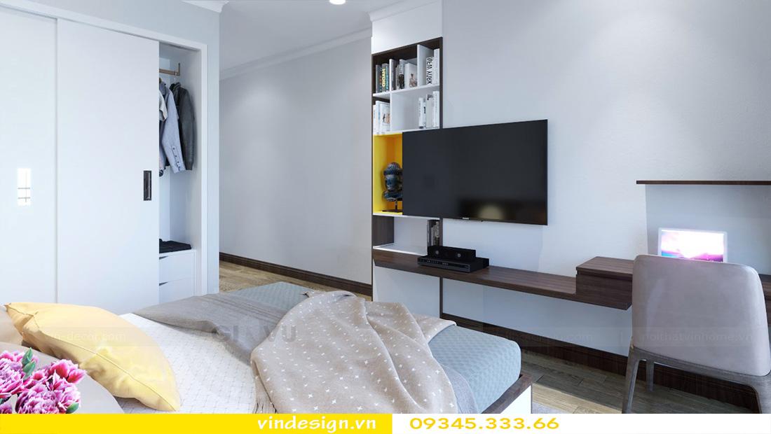 thiết kế nội thất chung cư gallery 3 phòng ngủ 07