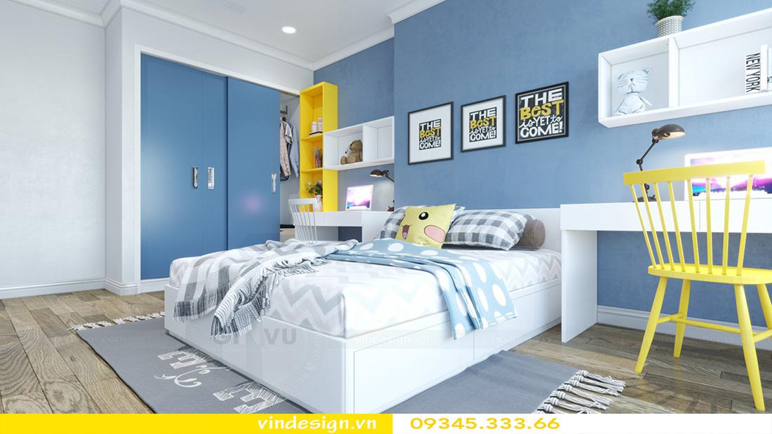 thiết kế nội thất chung cư gallery 3 phòng ngủ 09