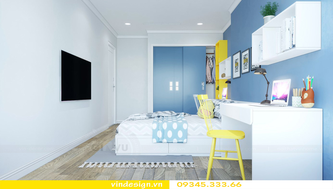 thiết kế nội thất chung cư gallery 3 phòng ngủ 11