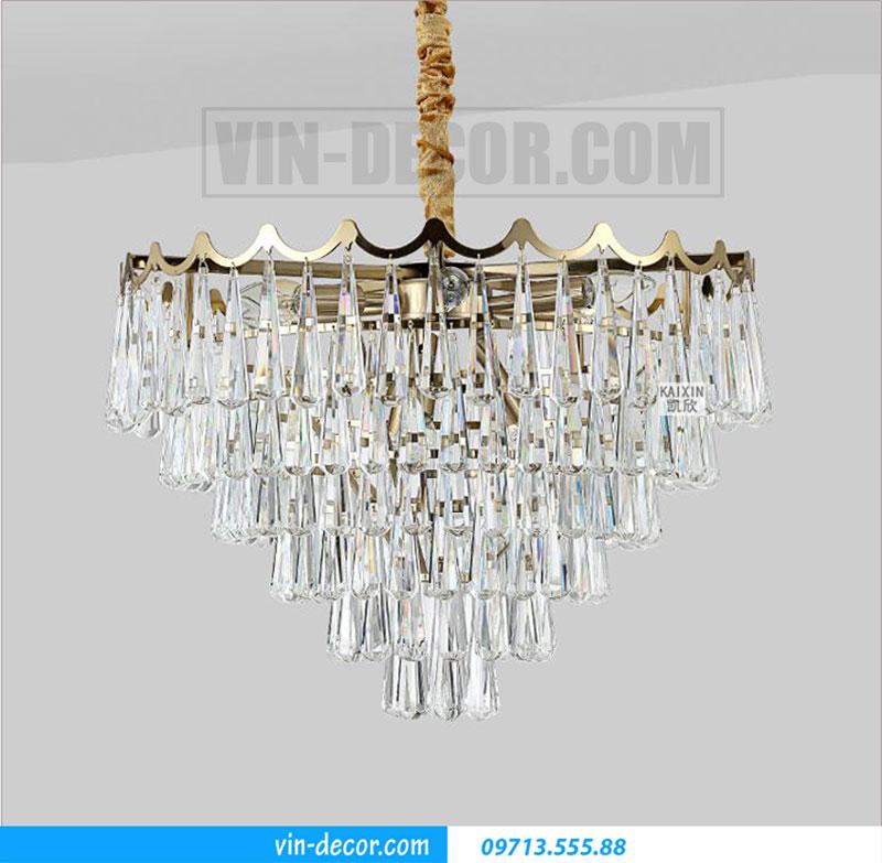 đèn chùm nhập khẩu pha lê cao cấp 01