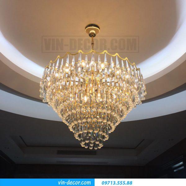 đèn chùm nhập khẩu pha lê cao cấp 06