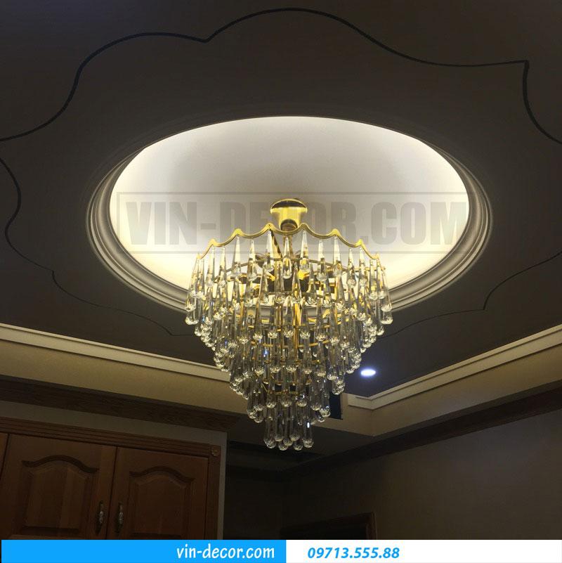 đèn chùm nhập khẩu pha lê cao cấp 07